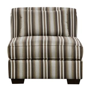 Corinthian 29A0 No Arm Slipper Chair