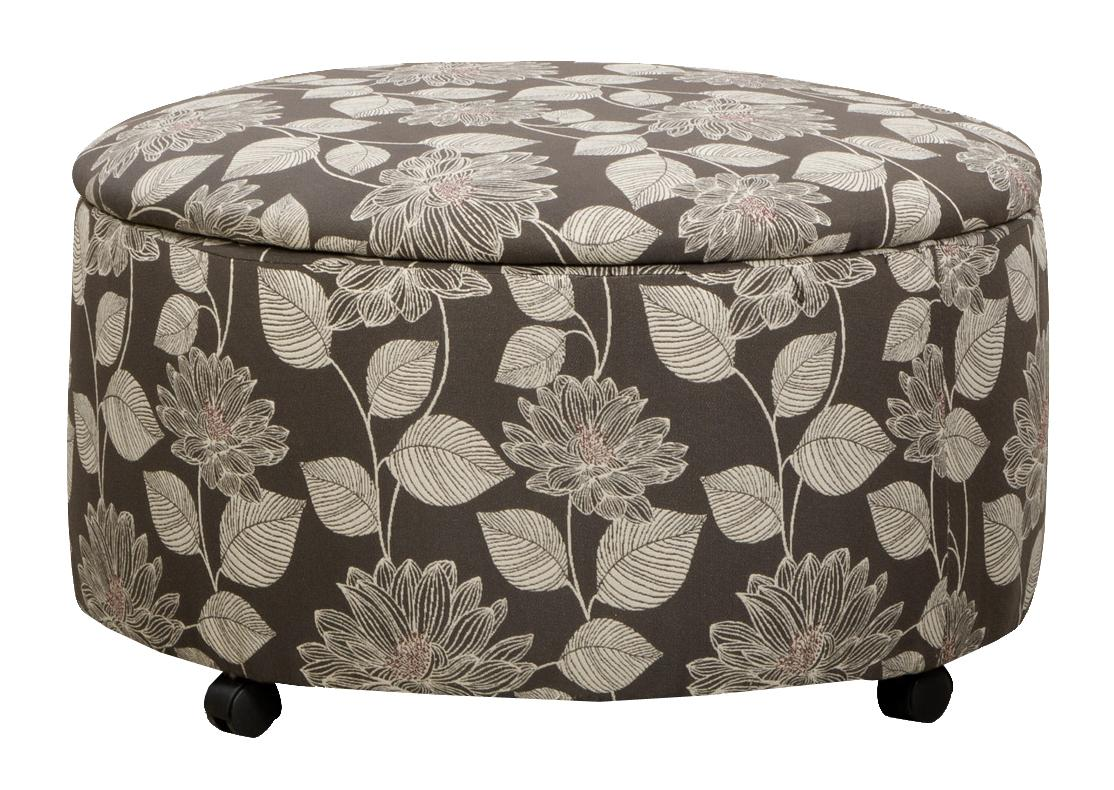 29A0 Round Storage Ottoman by Corinthian at Story & Lee Furniture