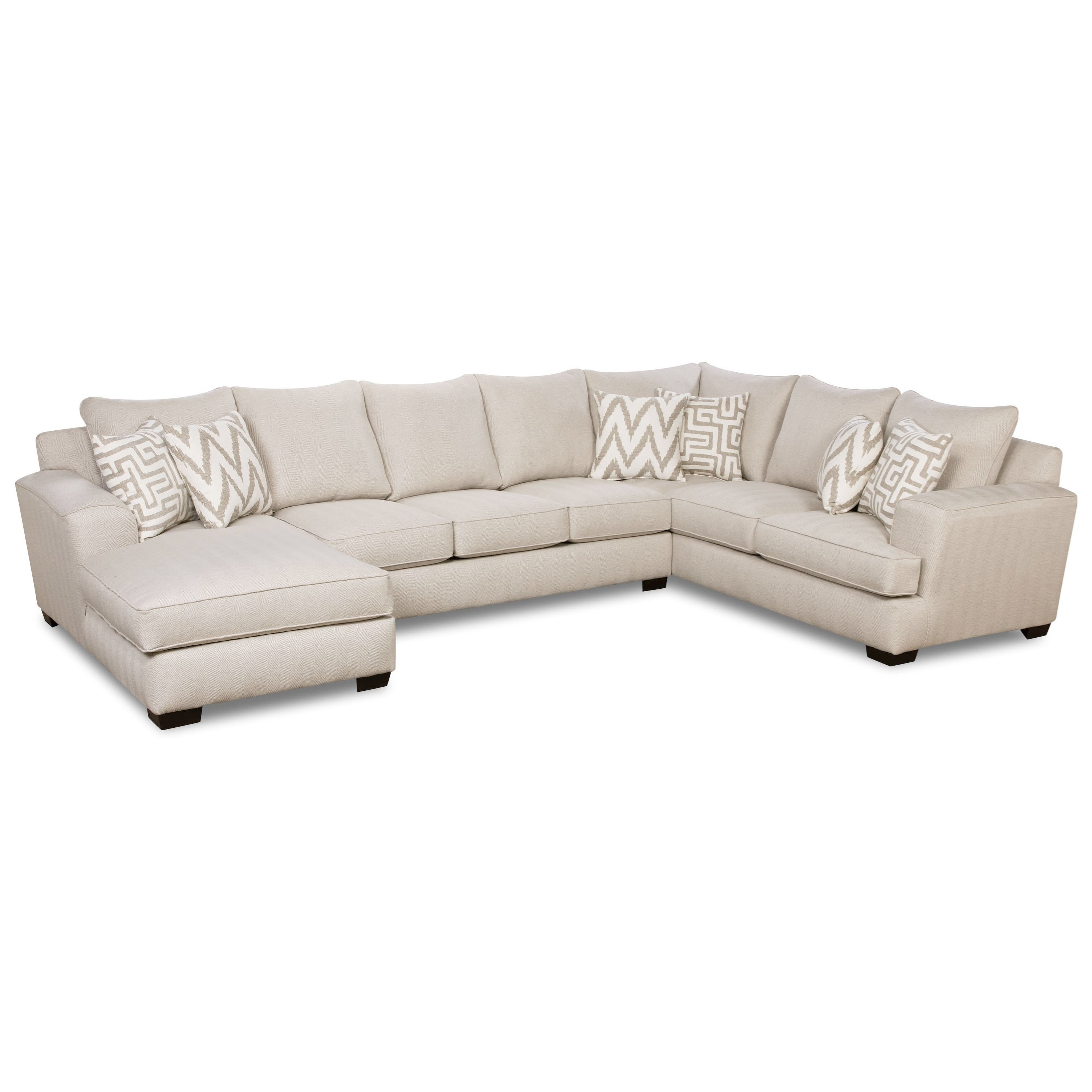 32B0 3-Piece Sectional by Corinthian at Story & Lee Furniture