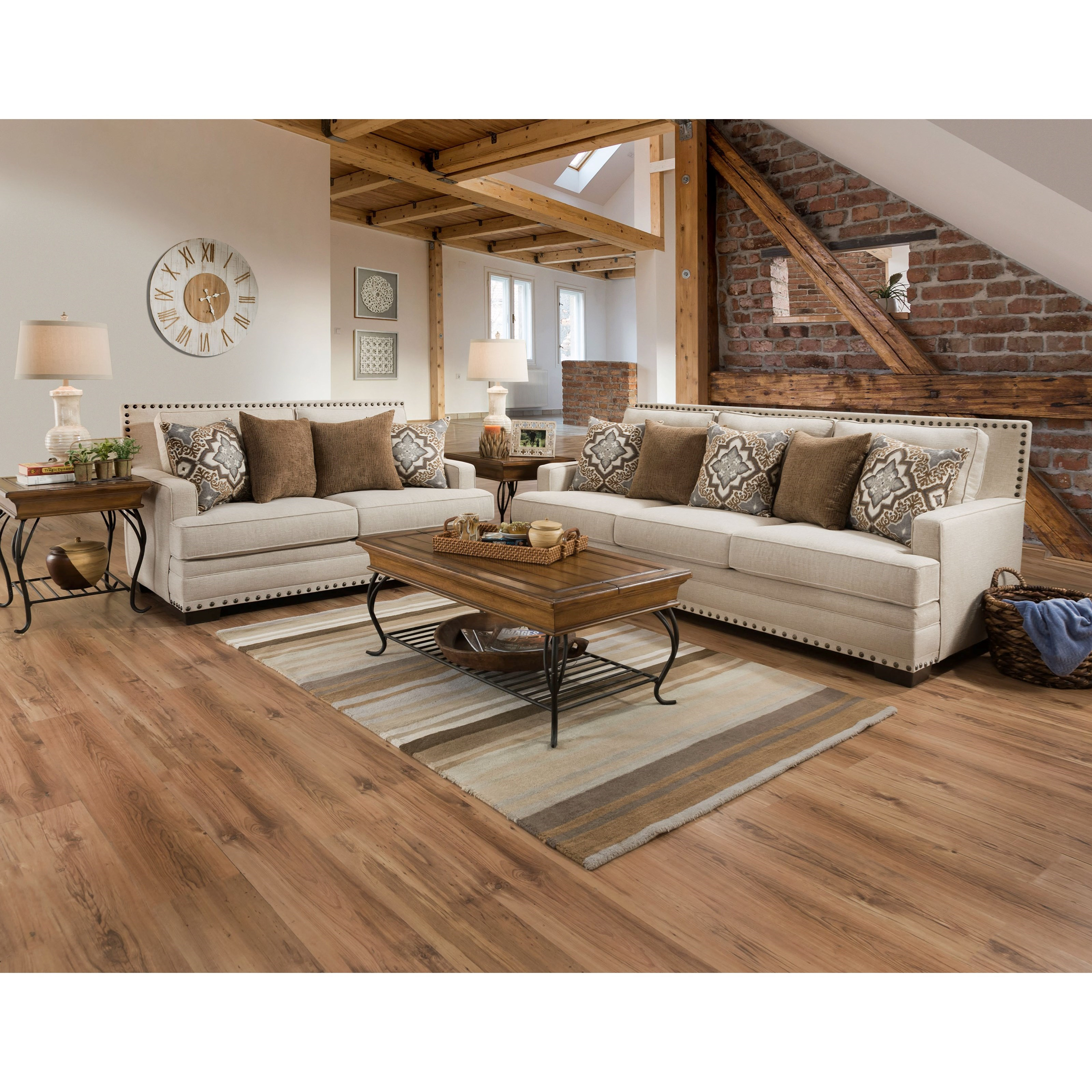 34B0 Stationary Living Room Group by Corinthian at Story & Lee Furniture