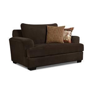 Corinthian Conran Conran Chocolate Chair & A Half
