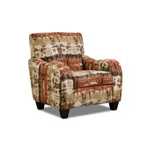 Corinthian Conran Reflections Lava Accent Chair