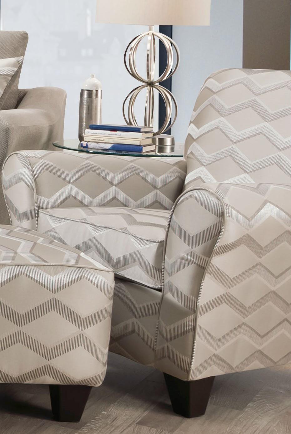 40F Copper Platinum Platinum Accent Chair by Corinthian at Furniture Fair - North Carolina
