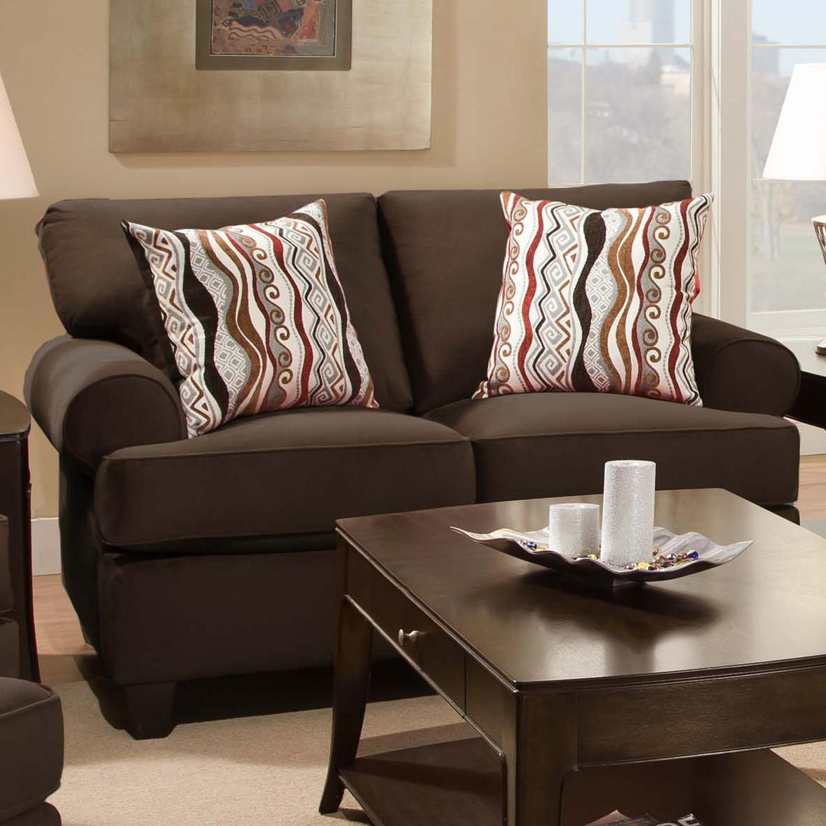 47A0  Loveseat at Ruby Gordon Home