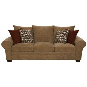Elegant and Casual Living Room Sofa for Family Styled Comfort