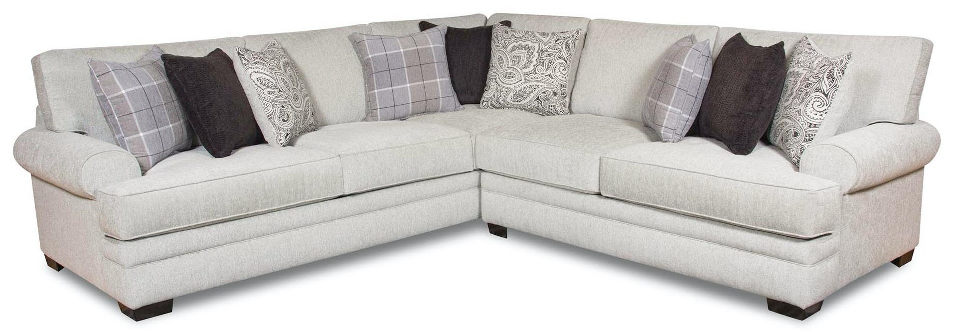 4-Seat Sectional Sofa