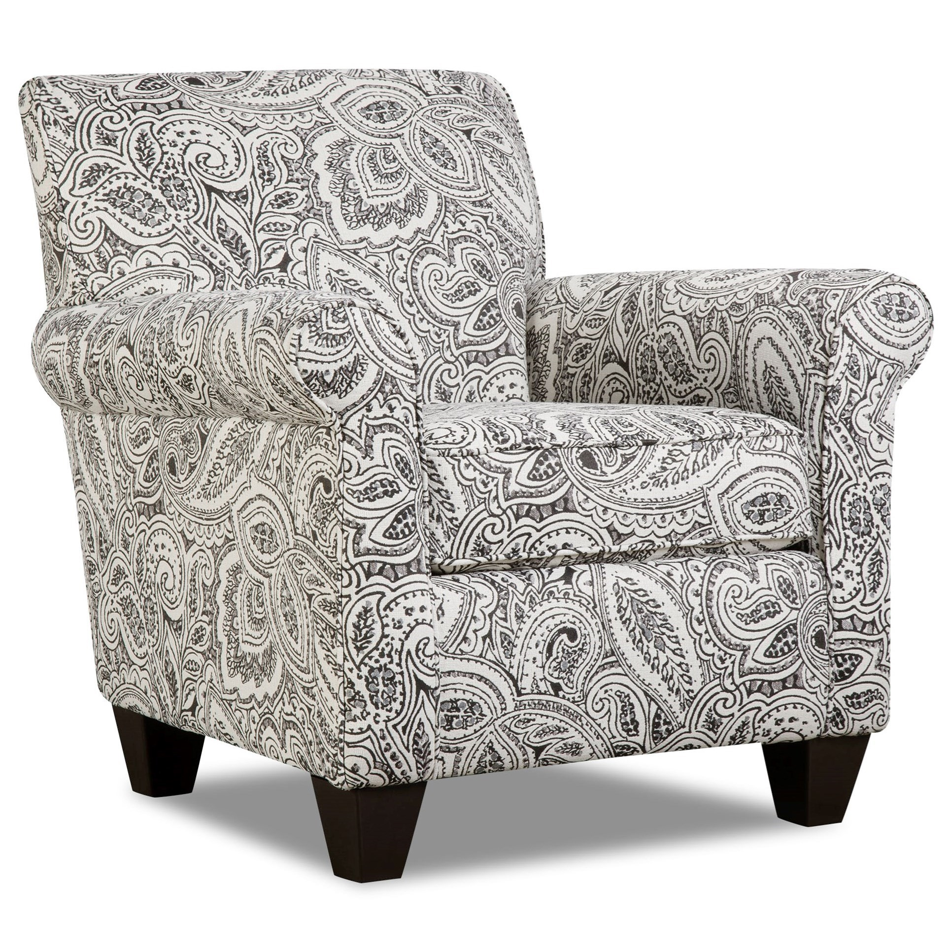 Griffin Contrast Accent Chair by Corinthian at Standard Furniture