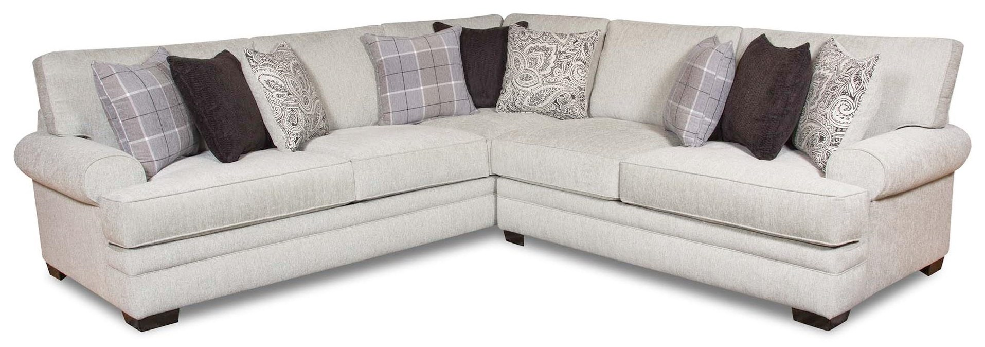 Griffin Sectional Sofa by Corinthian at Standard Furniture