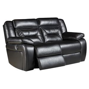Reclining Loveseat with 2 Recline Seats