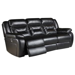 Reclining Sofa with 2 Recline Seats