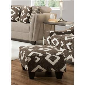 Yuban Java Accent Chair & Ottoman