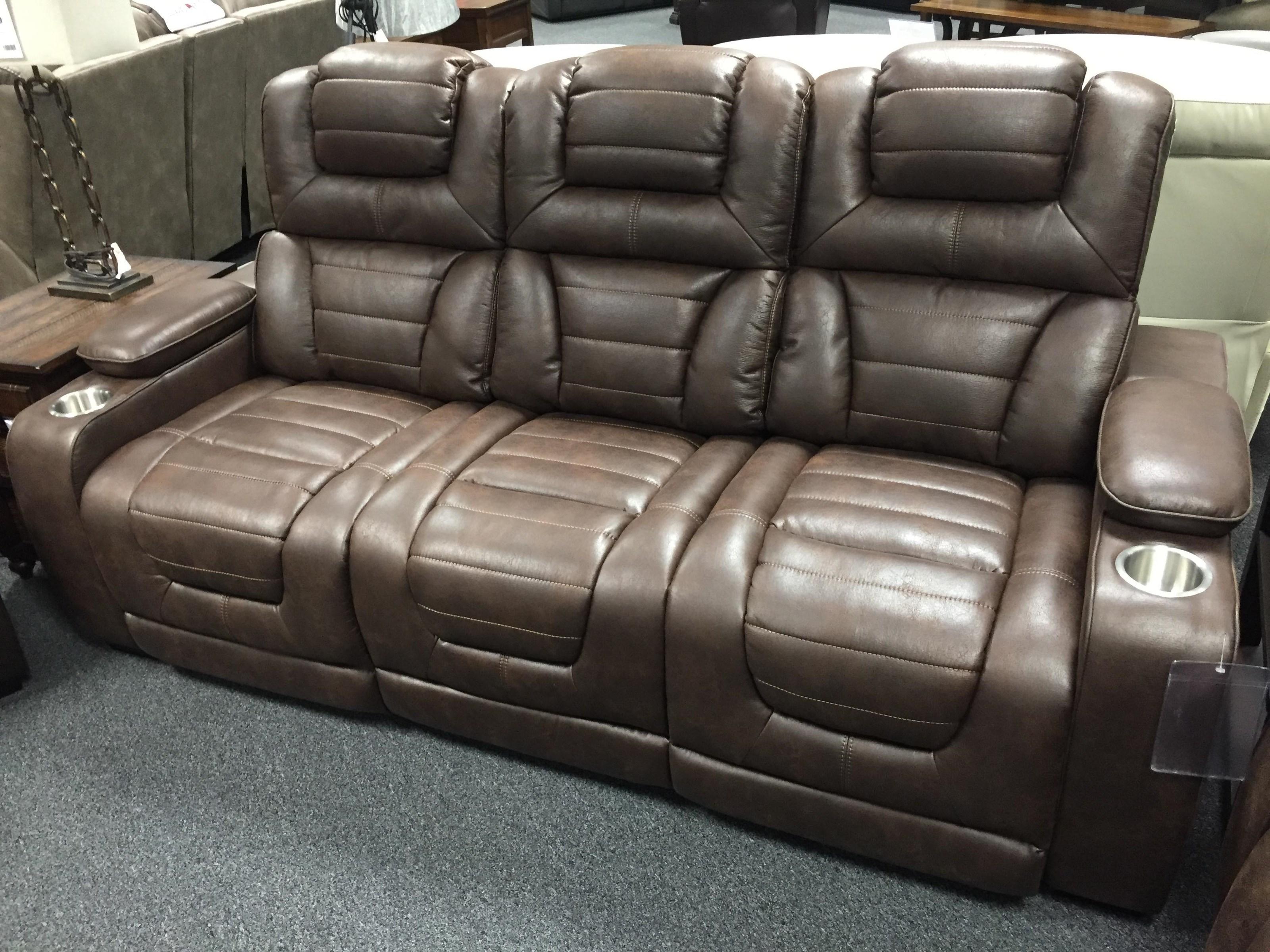 73901 Power Headrest Recline Sofa by Corinthian at Furniture Fair - North Carolina