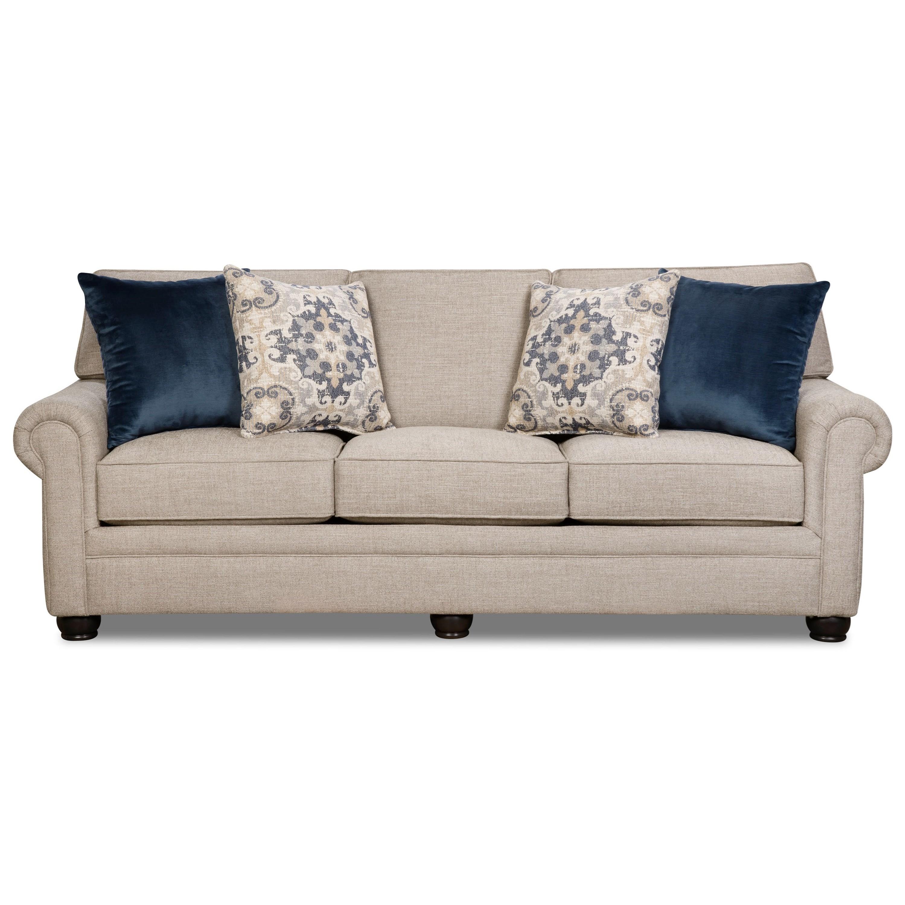 Bennington Queen Sleeper Sofa by Corinthian at Standard Furniture