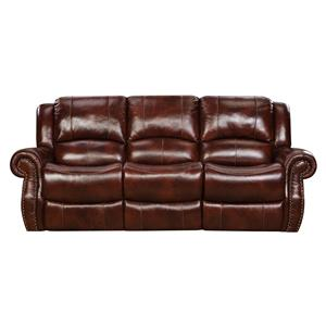 Alexander Leather Reclining Sofa