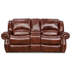 Power Console Loveseat with Adjustable Headrest
