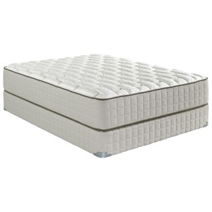 "King 12"" Firm Mattress and 9"" Wood Foundation"