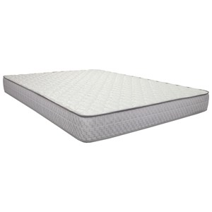 "Queen 8 1/2"" Innerspring Euro Pillow Top Mattress"