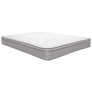 "King 9 1/2"" Euro Top Innerspring Mattress"