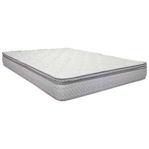"King 9 1/2"" Pillowtop Innerspring Mattress"