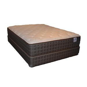 Queen 140 Plush Mattress and Box Spring