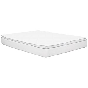 "Twin 10.5"" Pillow Top Mattress"