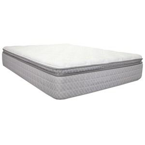 """Queen 14"""" Pillow Top Pocketed Coil Mattress"""
