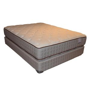 Corsicana 275 Two Sided Plush Queen Two Sided Plush Mattress Set