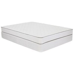 "Queen 6"" Firm Mattress and 7"" Tan Foundation"