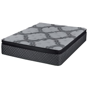 Full Coil on Coil Plush Pillow Top Mattress