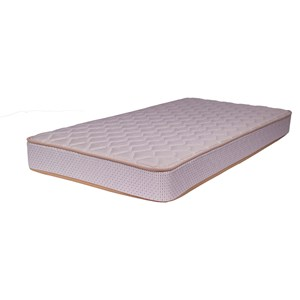 "Twin 7"" Plush Mattress"
