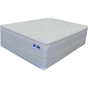 Queen Pillow Top Mattress and Box Spring