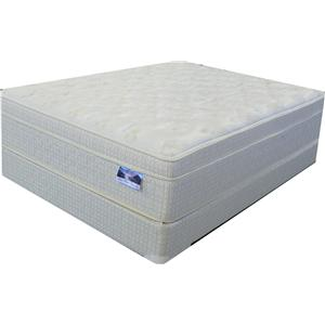 Full Euro Top Mattress and Box Spring