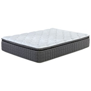 Twin Extra Long Pillow Top Pocketed Coil Mattress