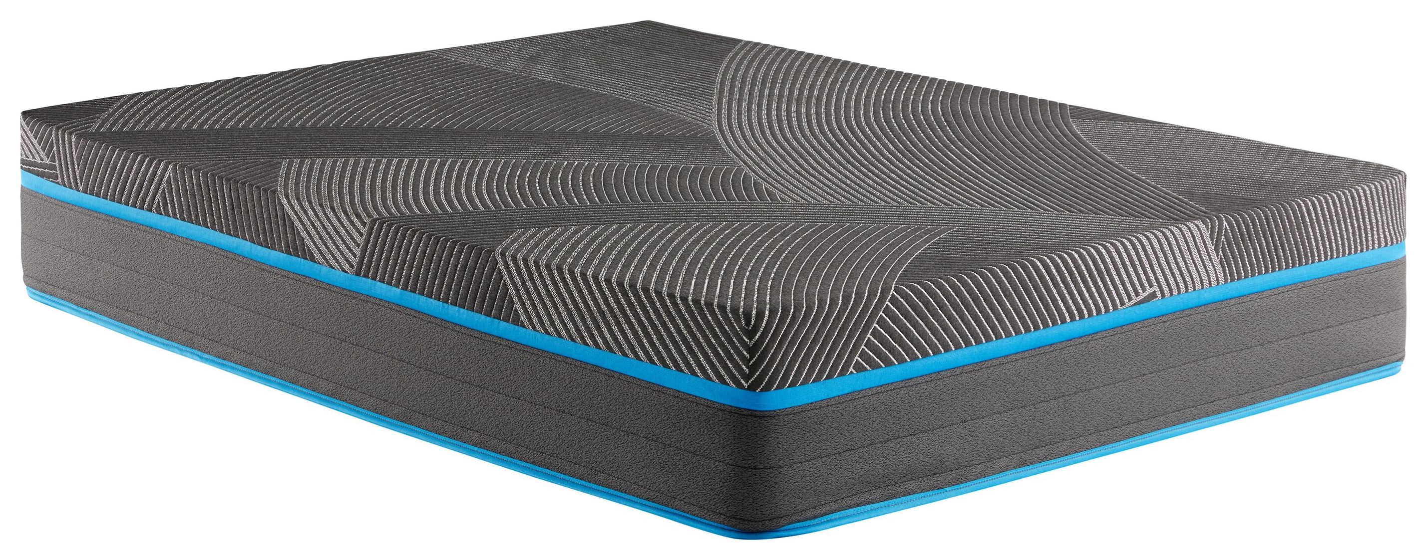 """Discovery Park 12"""" Queen Medium Hybrid Mattress by Corsicana at Beck's Furniture"""
