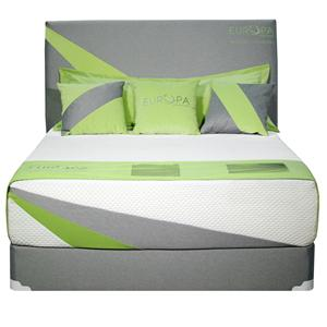 King Hybrid Mattress with Cool Reflections Gel and Quad Coil Technology