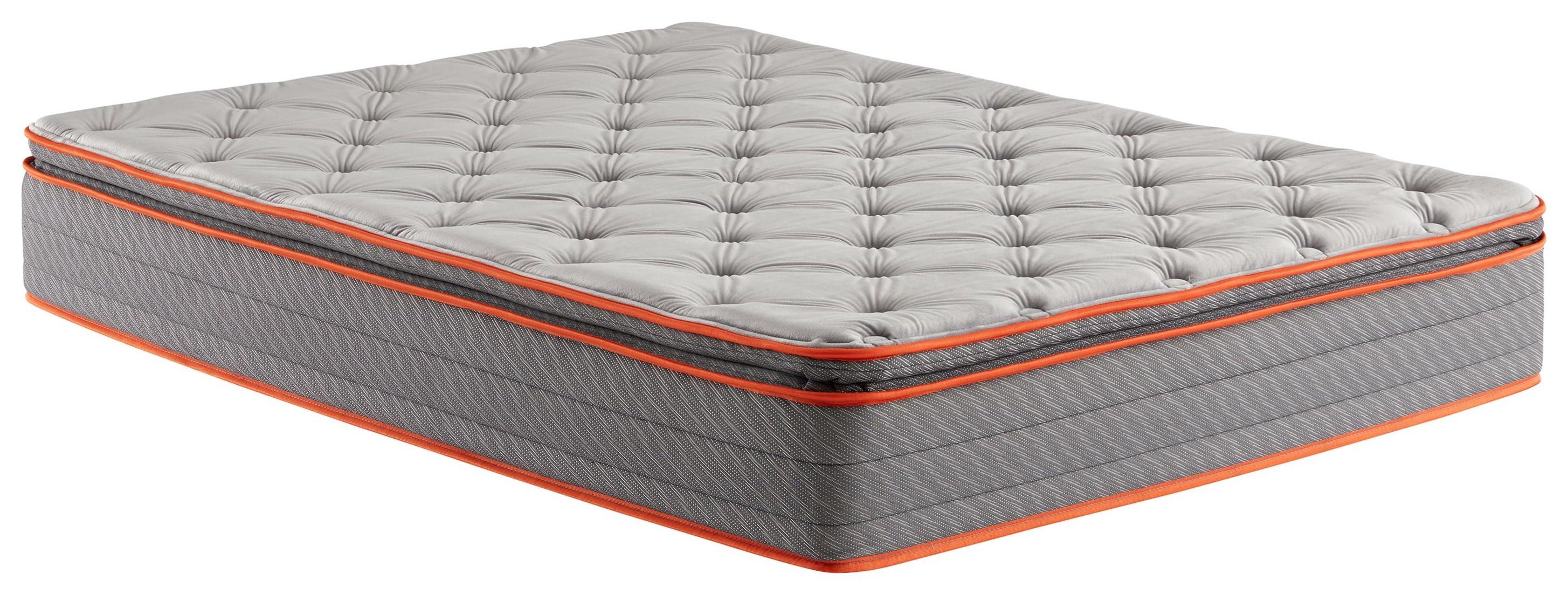 Land Park Cal King Medium Firm Pillow Top Mattress by Corsicana at Beck's Furniture