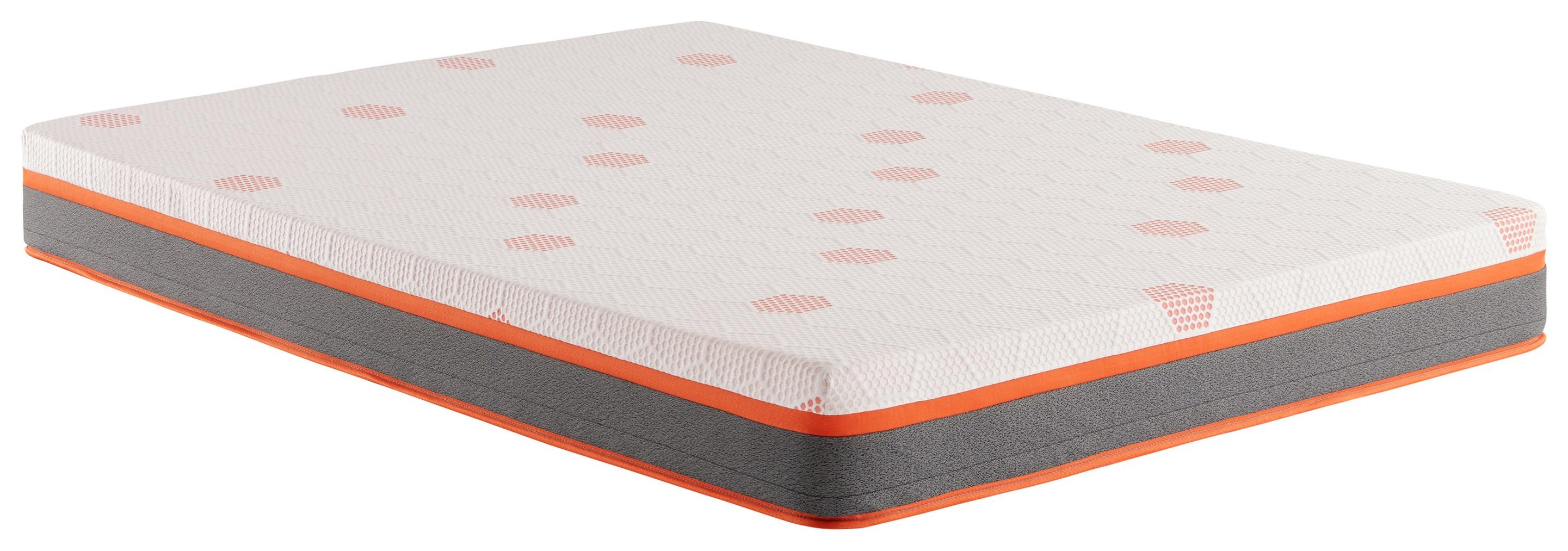"Sutter's Landing 8"" Queen Memory Foam Mattress by Corsicana at Beck's Furniture"