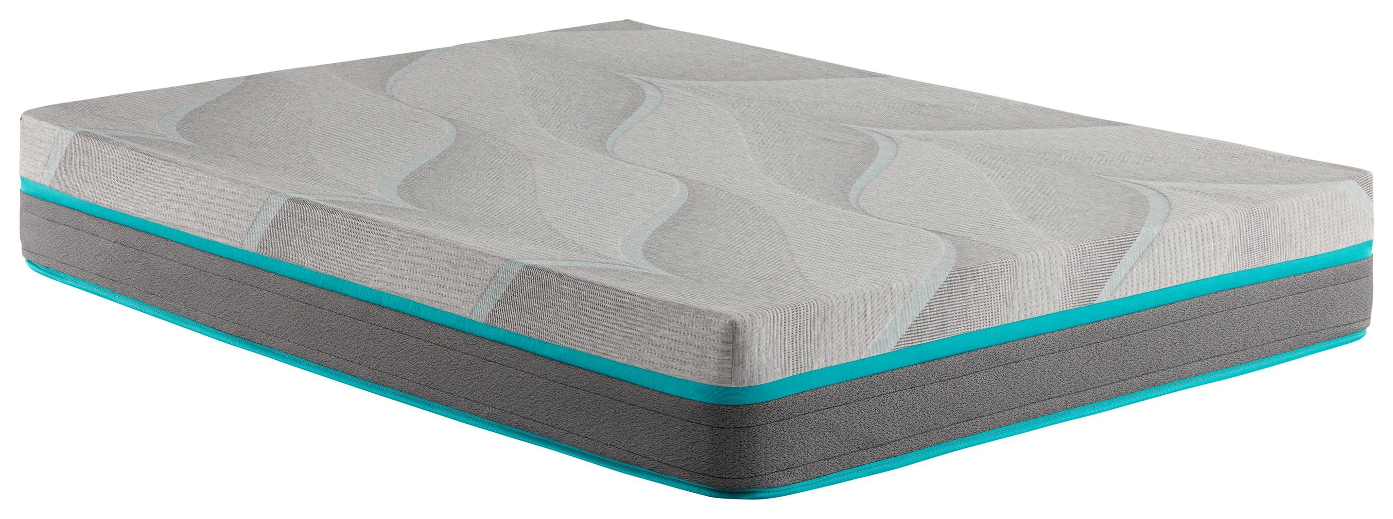"""William Land Park 10"""" Cal King Hybrid Cushion Firm Mattress by Corsicana at Beck's Furniture"""