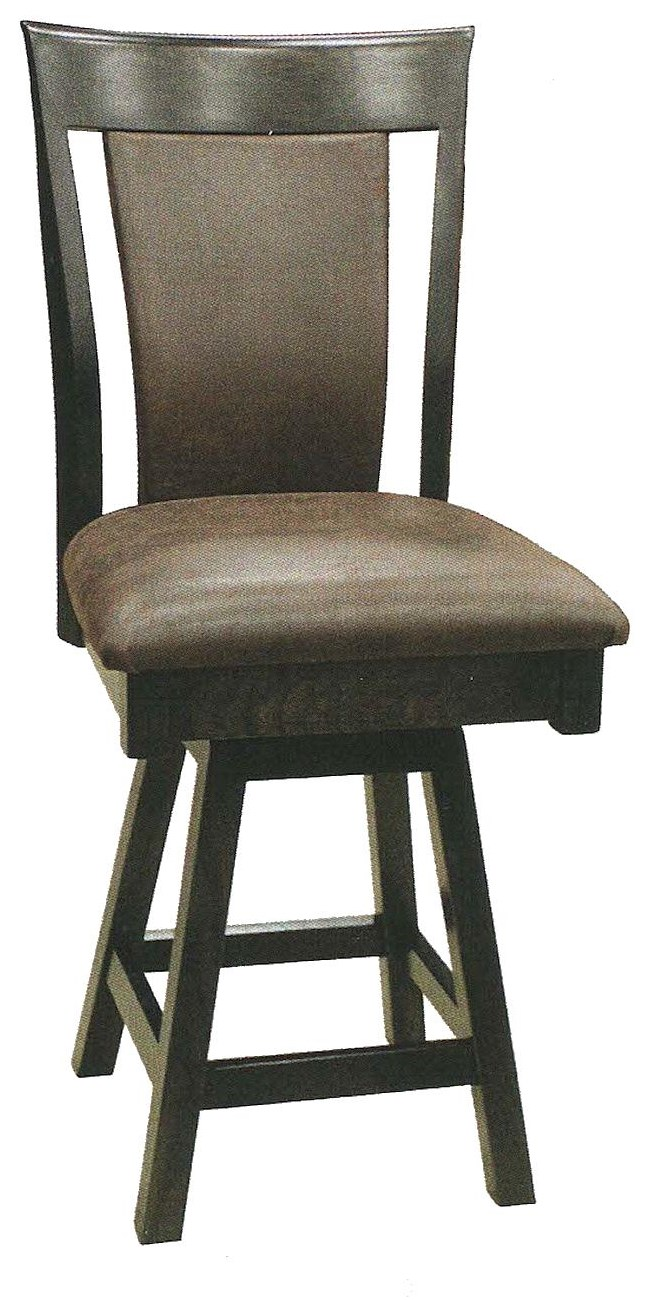 """Ashley II 30"""" Swivel Stool by Country Comfort Woodworking at Wayside Furniture"""