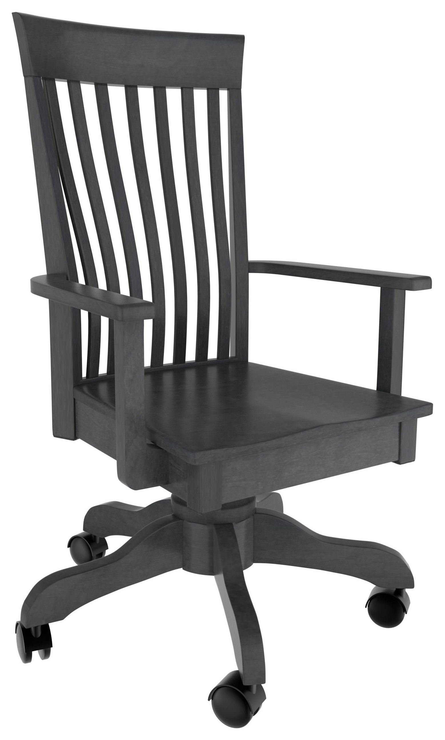 Ashley Desk Chair by Country Comfort Woodworking at Wayside Furniture