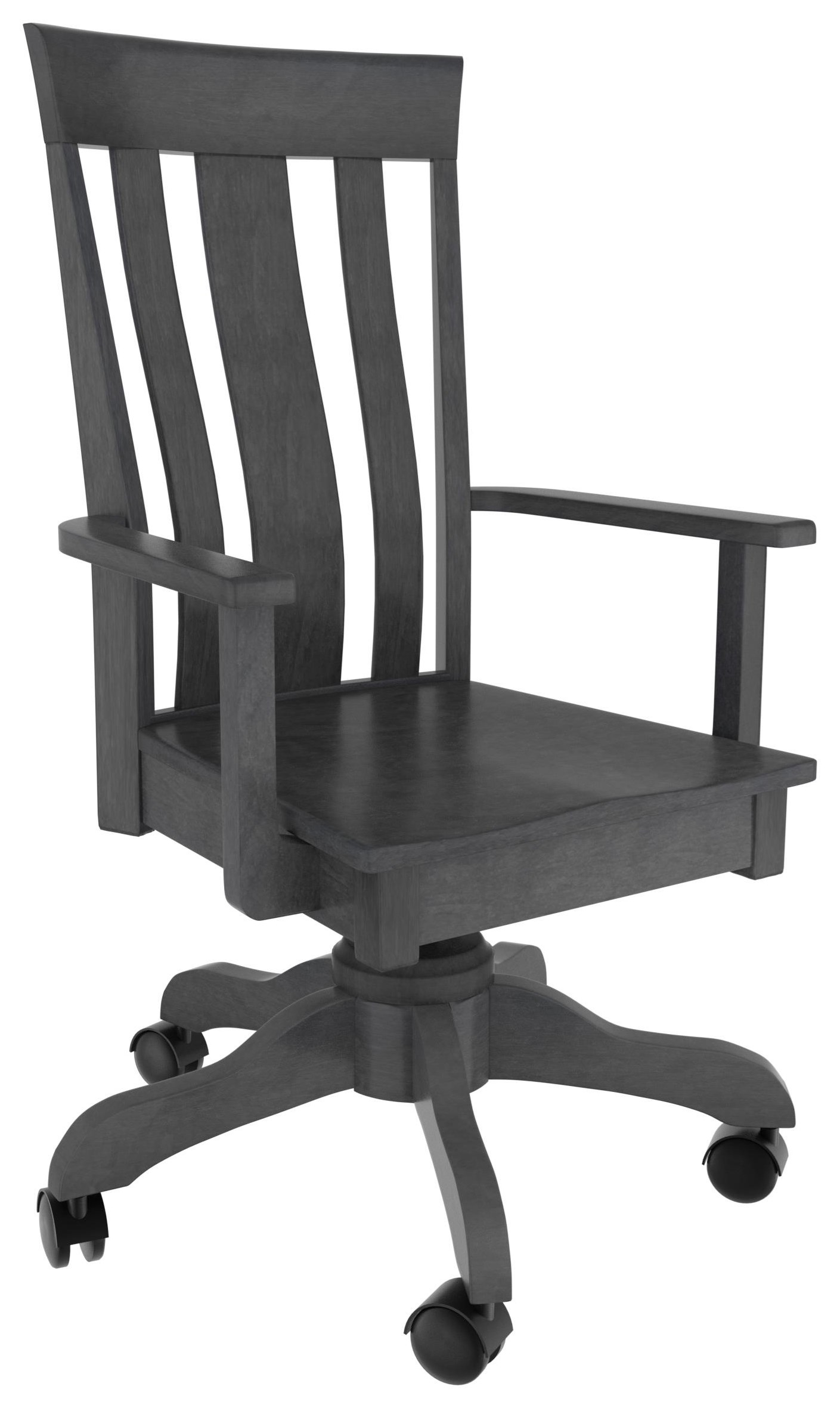 McZena Desk Chair by Country Comfort Woodworking at Wayside Furniture