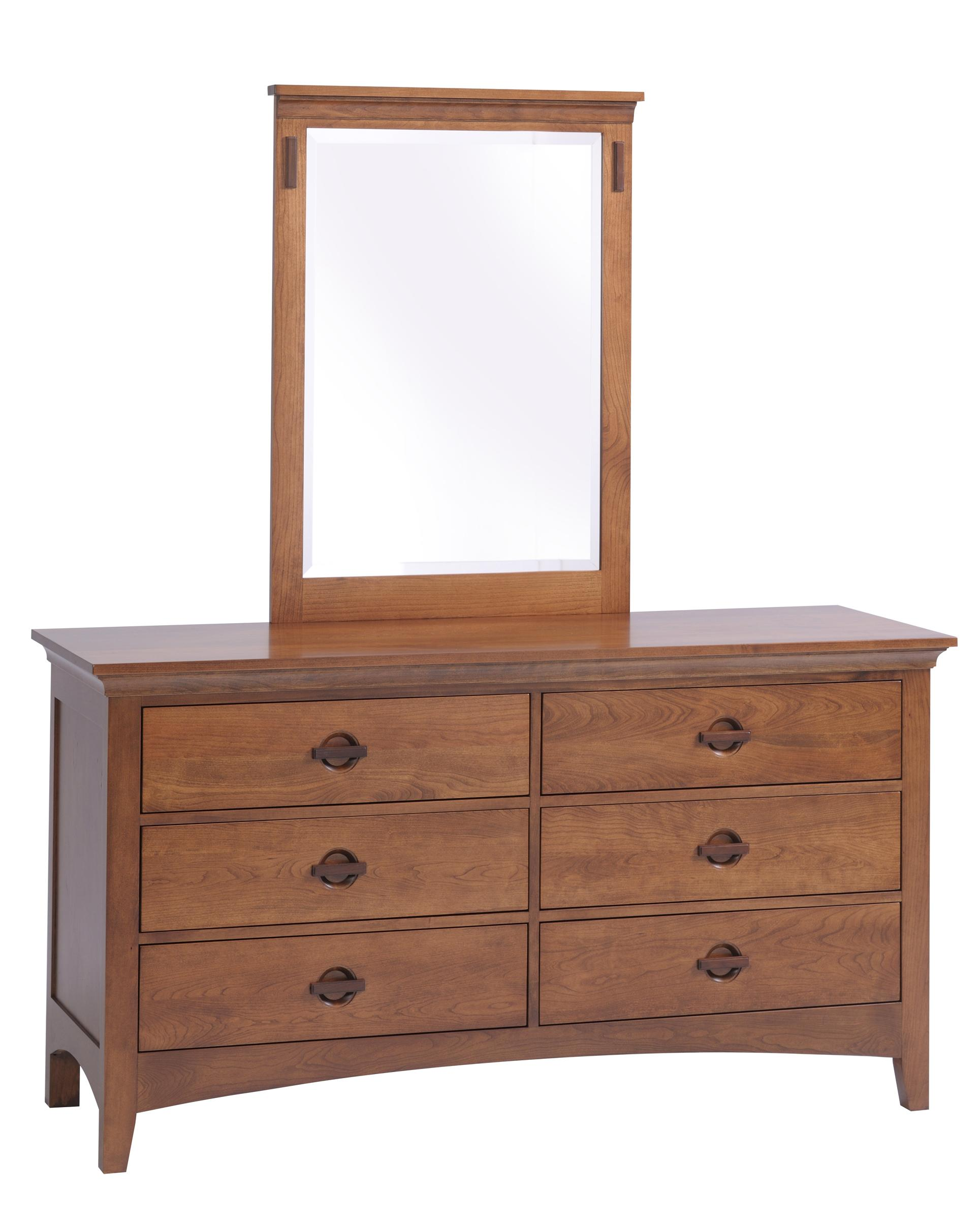 Great Lakes Dresser + Dresser Mirror by Country View Woodworking at Mueller Furniture