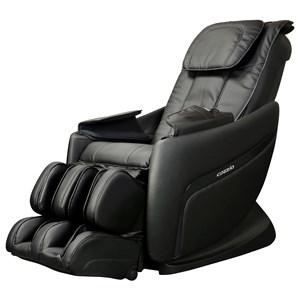 Black Massage Chair with 5 Pre-Programmed Massage Modes