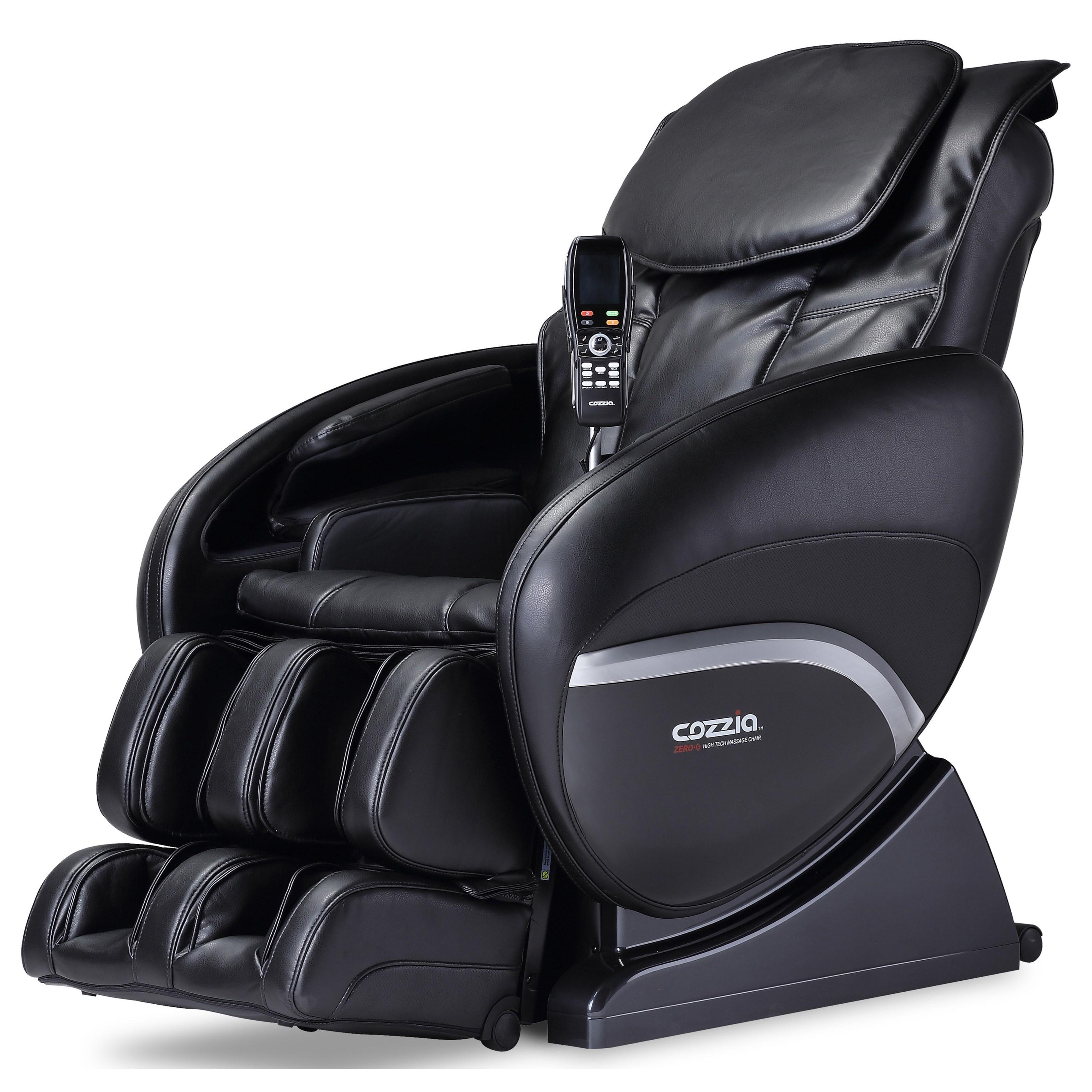 CZ Zero Gravity Reclining Massage Chair by Cozzia at Lucas Furniture & Mattress