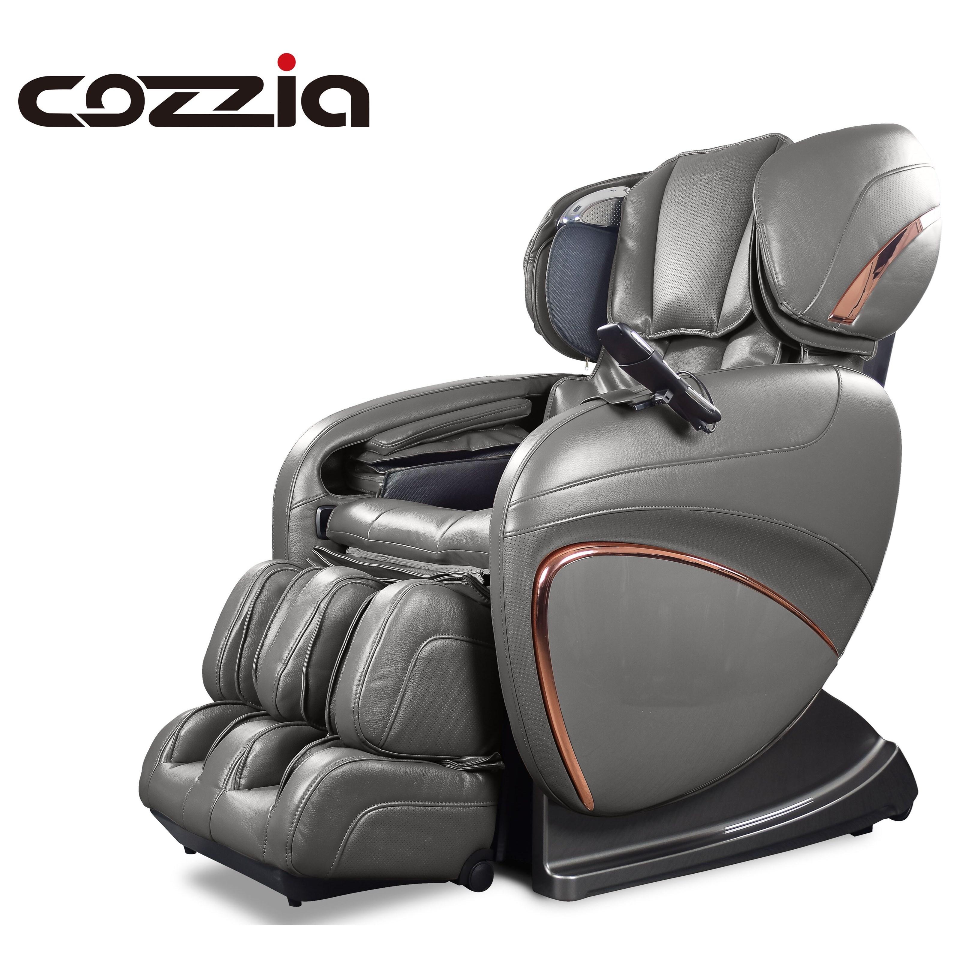 CZ Reclining 3D Zero Gravity Massage Chair by Cozzia at Lucas Furniture & Mattress