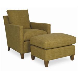 C.R. Laine Ewan Chair & Ottoman