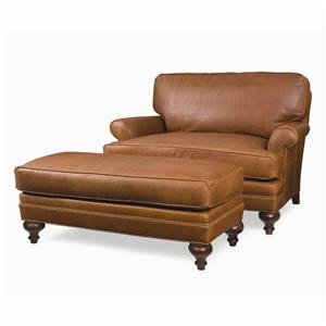 C.R. Laine Kasey Chair-and-a-half & Ottoman