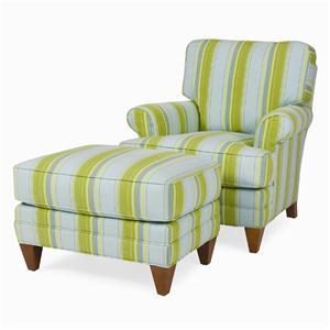C.R. Laine Klein Chair & Ottoman