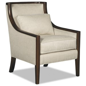 Wood Accent Chair