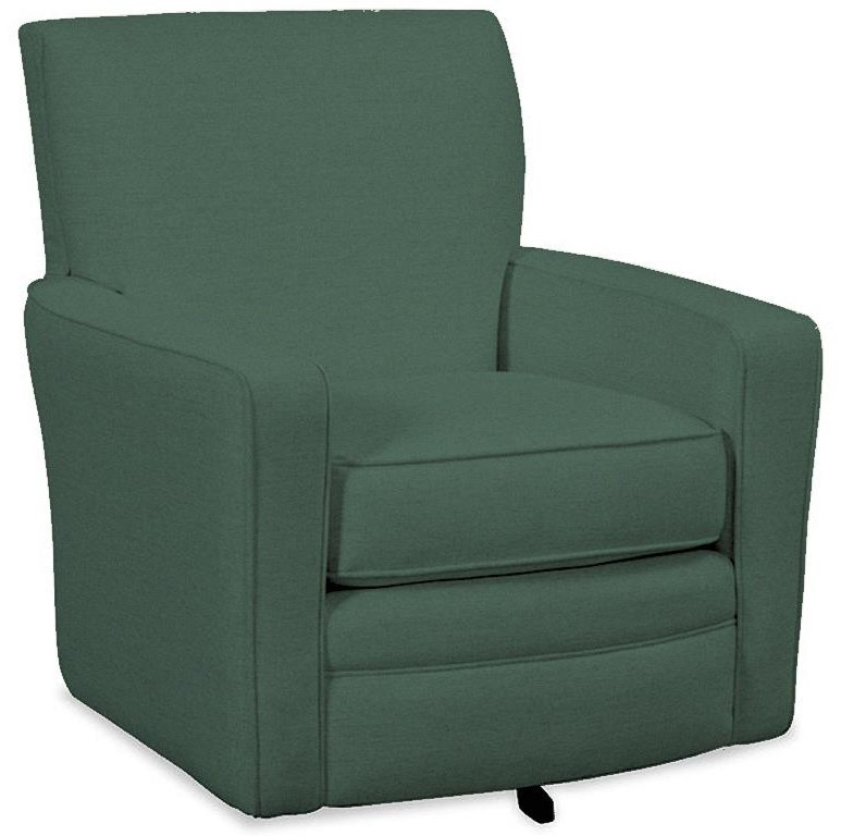 005510 Swivel Chair by Hickorycraft at Johnny Janosik